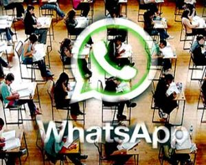 Leakage of examination questions using Whatsapp came into light at DU