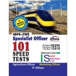 BPS-CWE Specialist Officer 101 Speed Tests - Agriculture/ Marketing/ IT