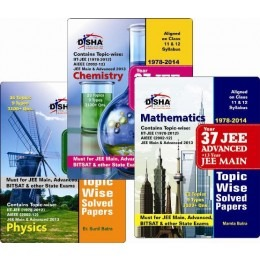 37 Years IIT-JEE Advanced + 13 yrs JEE Main Topic-wise Solved Paper (PCM)