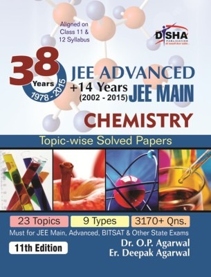 38 years iit jee advanced 14 yrs jee main topic wise solved