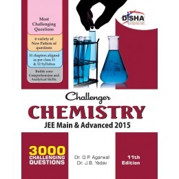 Challenger Chemistry for JEE Main & Advanced (11th edition)