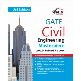GATE Civil Engineering Masterpiece 2016