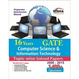 16 years GATE Computer Science & Information Technology Topic-wise Solved
