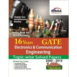 16 Years GATE Electronics & Communication Engineering Topic wise solved papers