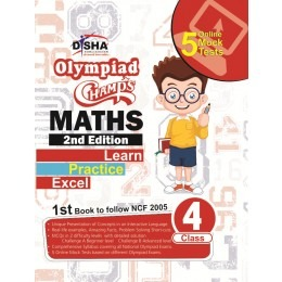 Olympiad Champs Maths for Class 4th