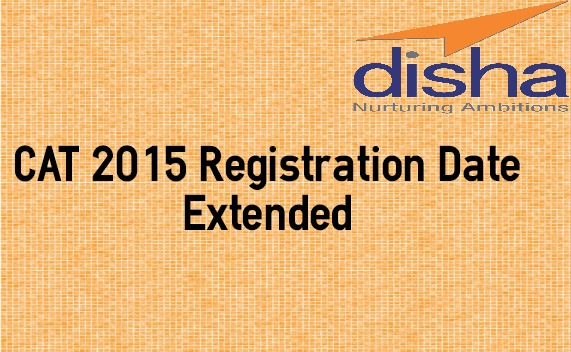 CAT 2015 Registration Date Extended