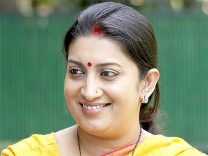 Smriti Irani motivated IITians to Utilise 'Start Up & Stand Up' Scheme