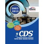 CDS 9 Years Topic-wise Solved Papers (2007-2015)