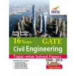 16 Years GATE Civil Engineering