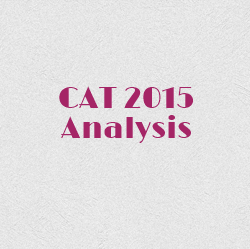 Analysis of the CAT 2015