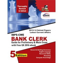 New IBPS-CWE Bank Clerk Guide for Prelim & Main Exams 5th English Edition