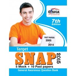 TARGET SNAP 2015 - Past (2005 - 2014) + 5 Mock Tests 7th Edition