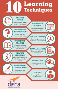 10 Learning Techniques for students preparing for Exams