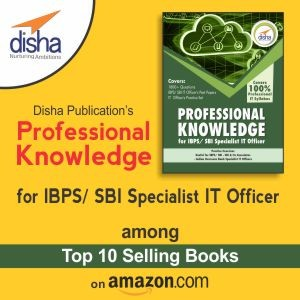 Disha's IBPS/SBI specialist IT Officer book: A huge hit