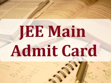 JEE Main 2015 Admit Card