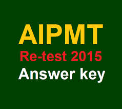 AIPMT Retest OMR Sheet and AnswerKey