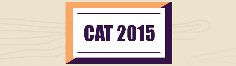 CAT 2015 Sample Test