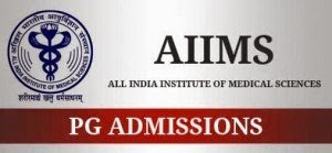 AIIMS PG 2016 Admission Notification