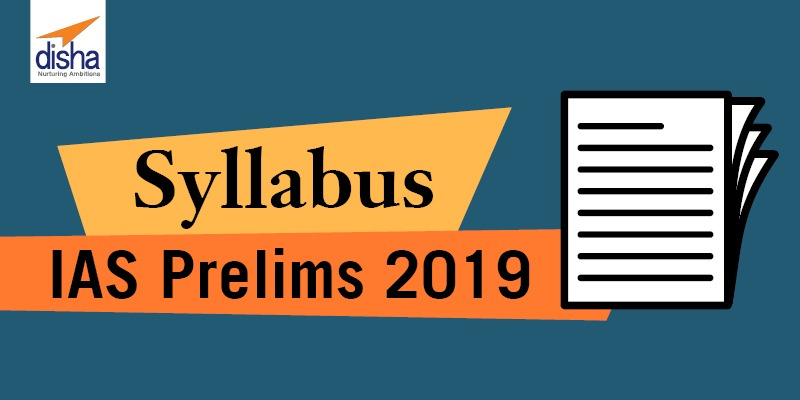 Syllabus for IAS prelims exam