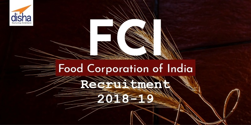 FCI Recruitment 2019 Apply Online
