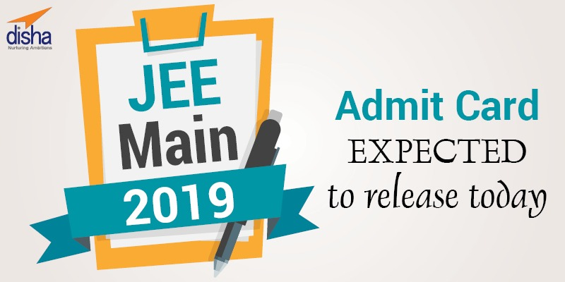 JEE Main Admit Card Date Release today