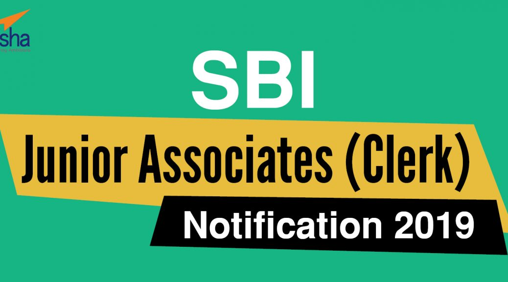 SBI Junior Associates Notification 2019
