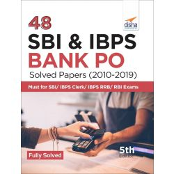 48 SBI & IBPS Bank PO Solved Papers (2010-2019) 5th Edition
