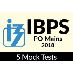 5 Online Mock Tests for IBPS PO Mains Exam 2018