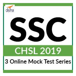 3 Online Mock Test Series - SSC CHSL 2019