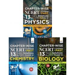 Chapter-wise NCERT + Exemplar + PAST 13 Years Solutions for CBSE Class 12 PCB 7th Edition