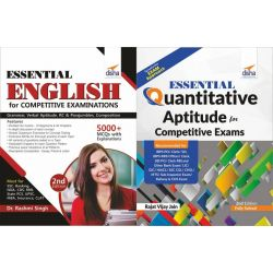 Essential English & Essential Quantitative Aptitude for Competitive Examinations
