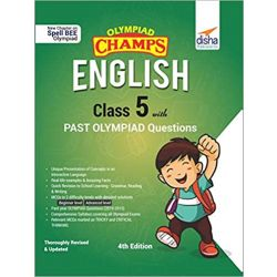Olympiad Champs English Class 5 with Past Olympiad Questions 4th Edition
