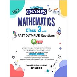 Olympiad Champs Mathematics Class 3 with Past Olympiad Questions 4th Edition
