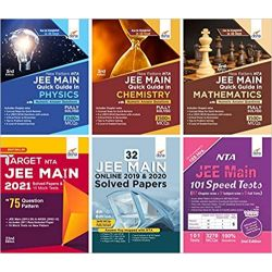 NTA JEE MAIN MEGA New Pattern Success Package 8th edition