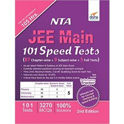 NTA JEE Main 101 Speed Tests (87 Chapter-wise + 9 Subject-wise + 5 Full Tests) 2nd Edition