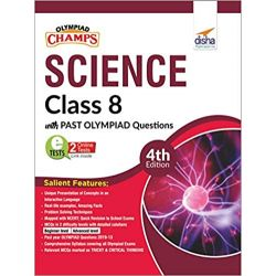 Olympiad Champs Science Class 8 with Past Olympiad Questions 4th Edition