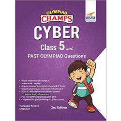 Olympiad Champs Cyber Class 5 with Past Olympiad Questions 2nd Edition