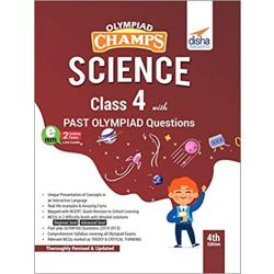 Olympiad Champs Science Class 4 with Past Olympiad Questions 4th Edition