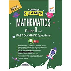 Olympiad Champs Mathematics Class 1 with Past Olympiad Questions 3rd Edition