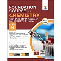 Foundation Course in Chemistry with Case Study Approach for JEE/ NEET/ Olympiad Class 9 - 5th Edition