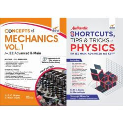 Concepts in Mechanics with Shortcuts Problem Solving Techniques in Physics for JEE Main & Advanced
