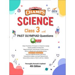 Olympiad Champs Science Class 3 with Past Olympiad Questions 4th Edition