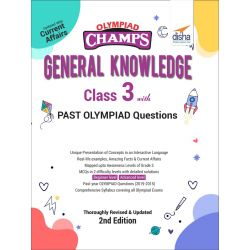 Olympiad Champs General Knowledge Class 3 with Past Olympiad Questions 2nd Edition