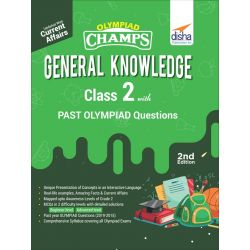 Olympiad Champs General Knowledge Class 2 with Past Olympiad Questions 2nd Edition