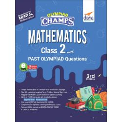 Olympiad Champs Mathematics Class 2 with Past Olympiad Questions 3rd Edition