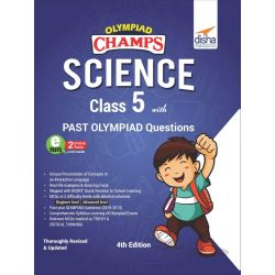 Olympiad Champs Science Class 5 with Past Olympiad Questions 4th Edition