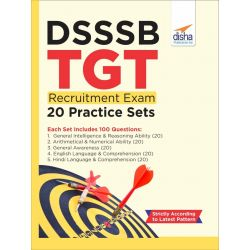 DSSSB TGT Recruitment Exam 20 Practice Sets