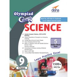 Olympiad Champs Science Class 9 with 5 Mock Online Olympiad Tests