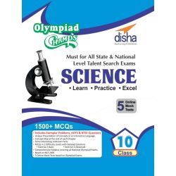 Olympiad Champs Science Class 10 with 5 Mock Online Olympiad Tests