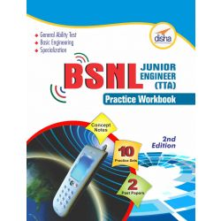 BSNL Jr. Engineer (TTA) Exam Practice Sets | Disha